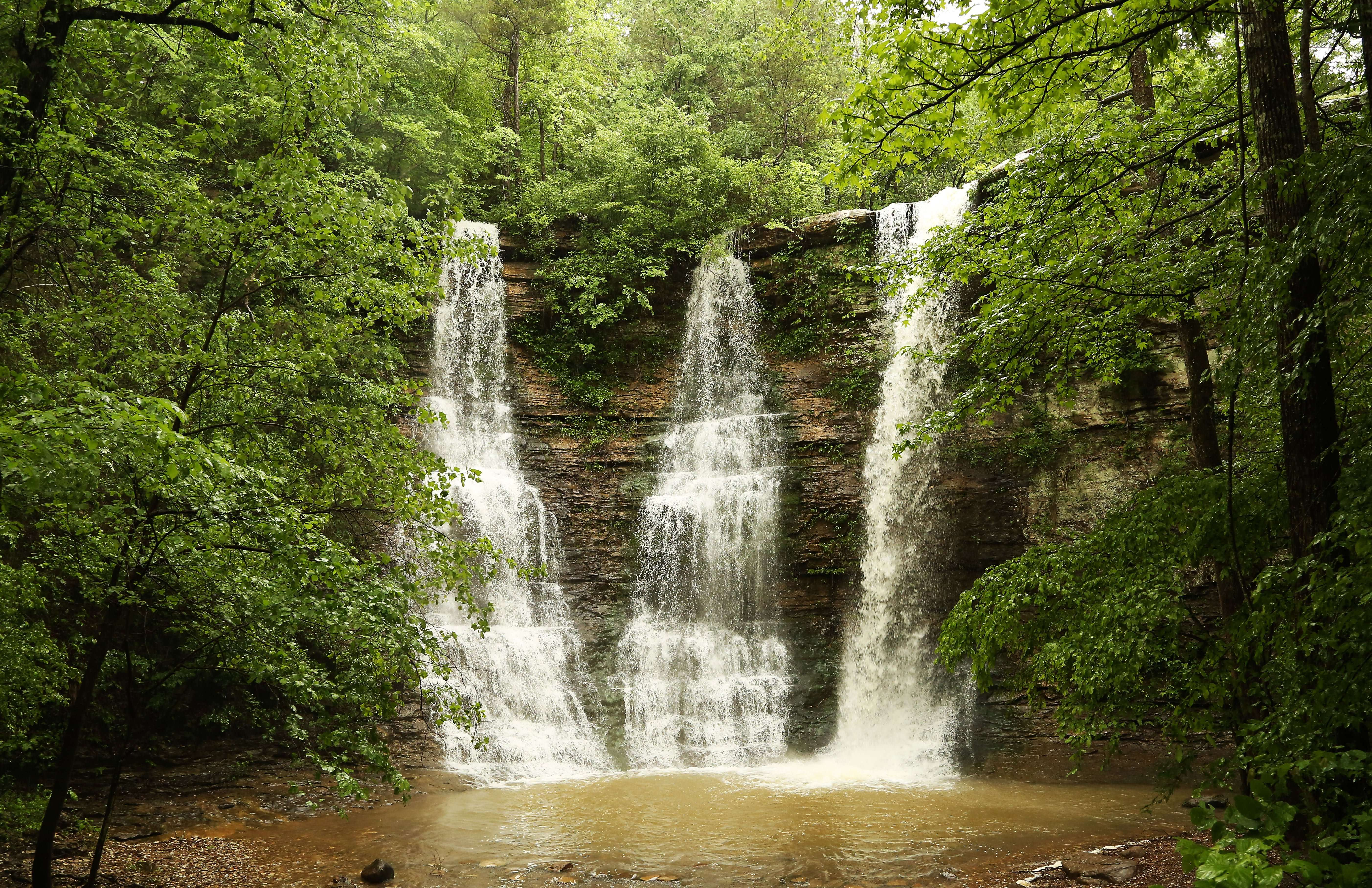 Three Falls in Arkansas